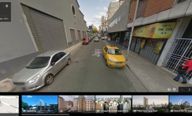 Google Maps Street View calle Jujuy